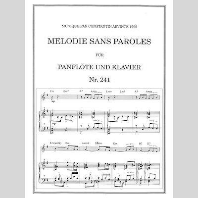 Melodie Sans Paroles Dajoeri Webshop